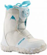 Ботинки для сноуборда детские Burton Grom Boa White/Blue (2021)