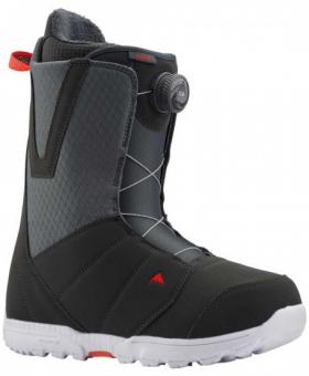 Ботинки для сноуборда Burton Moto Boa gray/red (2020)