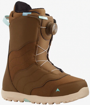 Ботинки для сноуборда Burton Mint Boa brown (2021)