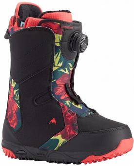 Ботинки для сноуборда Burton Limelight Boa black/floral (2021)