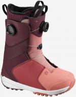 Ботинки для сноуборда Salomon Kiana Dual Boa wine tasting/brick dust/apple butter (2021)