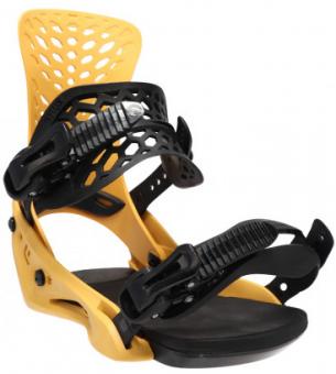 Крепления для сноуборда Flux PR Yellow (2021)