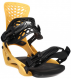 Крепления для сноуборда Flux PR Yellow (2021) 1