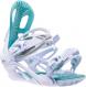 Крепления для сноуборда Roxy Classic (white) 20BN011 (2021) 1