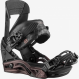 Крепления для сноуборда Salomon Mirage black/burgundy (2021) 1