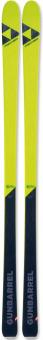 Горные лыжи Fischer Gunbarrel + R 16 Brake 85 [A] Matt Black/Yellow (2021)