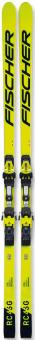 Горные лыжи Fischer RC4 Worldcup SG JR. H-Plate (без креплений) (2021)
