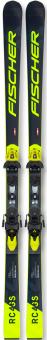 Горные лыжи Fischer RC4 WC GS JR M/O-Plate + Rc4 Z11 Freeflex (2021)