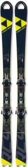 Горные лыжи Fischer RC4 Worldcup SL JR Curvbooster (130-150)+крепления RC4 Z11 Brake 85 [D] (2020)