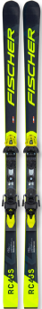 Горные лыжи Fischer RC4 WC GS JR M/O-Plate + RC4 Z9 GW (2021)