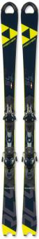 Горные лыжи Fischer RC4 Worldcup SL Jr Curv Booster (120-125) + крепления RC4 FJ7 AC Brake 78 [J] (2020)
