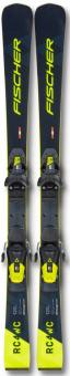 Горные лыжи Fischer Rc4 Wc Jr M/O Jr + Rc4 Z9 (2021)