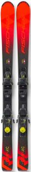 Горные лыжи Fischer The Curv Jr (130-150) Slr + Fj7 Ac Slr (2021)