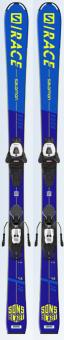 Горные лыжи Salomon L S/Race Rush JR + C5 GW (2021)