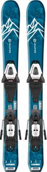 Горные лыжи Salomon E QST Max Jr S + C5 GW (2020)