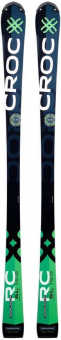 Горные лыжи Croc SL Junior 138 с креплениями Marker X-Cell 12 (2018)