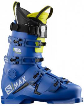 Горнолыжные ботинки Salomon S/Max 130 Carbon race blue/acid green/black (2020)