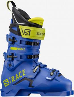 Горнолыжные ботинки Salomon S/Race 110 race blue/acid green (2021)