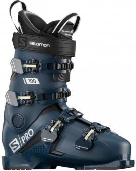 Горнолыжные ботинки Salomon S/Pro 100 petrol blue/black/pale kaki (2020)