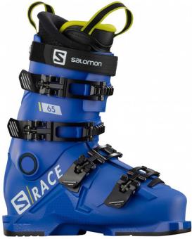 Горнолыжные ботинки Salomon S/Race 65 race blue/acid green (2020)