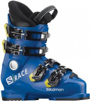 Горнолыжные ботинки Salomon S/Race 60 T race blue/acid green/black (2020)