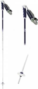 Палки горнолыжные Salomon Angel S3 white/purple