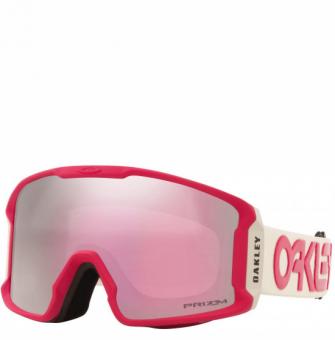 Маска горнолыжная Oakley Line Miner XM Factory Pilot Rubine Grey/Prizm Snow Hi Pink (2021)