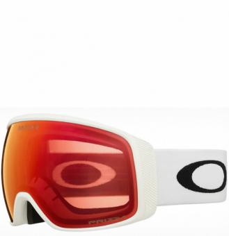 Горнолыжная маска Oakley Flight Tracker XL matte white/prizm snow torch iridium