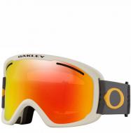 Маска горнолыжная Oakley O Frame 2.0 Pro XL (линза Rose) Matte White w/Persimmon & Dray grey (2020)