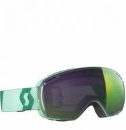 Маска горнолыжная Scott LCG Compact mint, enhancer green chrome (2021)