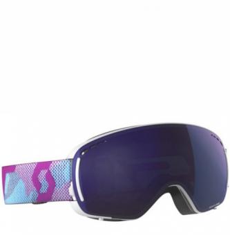 Маска горнолыжная Scott LCG Compact purple/solar blue chrome (2021)