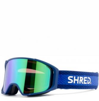 Маска Shred Simplify Bluebird - CBL Plasma Mirror (VLT 15%)+CBL Sky Mirror (VLT 45%) (2020)