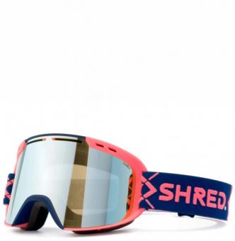 Маска Shred Amazify Bigshow Navy/Rust - CBL Sky Mirror (VLT 45%) (2021)