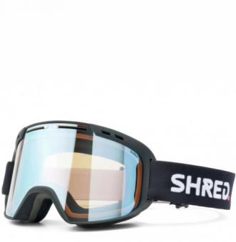 Маска Shred Amazify black - CBL Sky Mirror (VLT 45%) (2021)