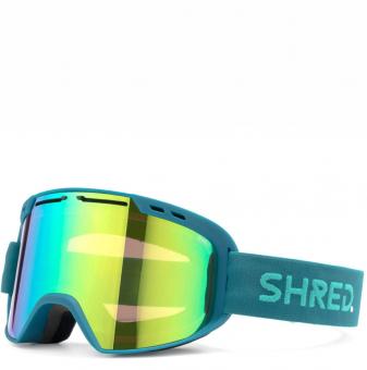 Маска Shred Amazify teal/aqua - CBL Plasma Mirror (VLT 15%) (2020)
