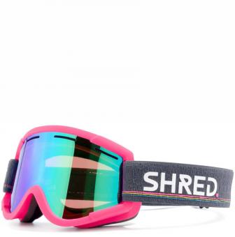 Маска Shred Nastify pink - CBL Plasma Mirror (VLT 16%) + Caramel (VLT 53%) (2020)