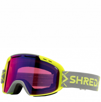 Маска Shred Amazify Bigshow yellow - CBL Plasma Mirror (VLT 15%) (2020)