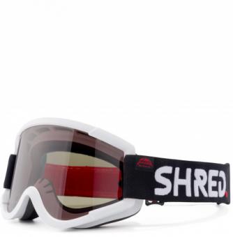 Маска Shred Nastify MTB MCG White-CBL Green+Clear (2020)