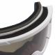Маска Shred Nastify MTB MCG White-CBL Green+Clear (2020) 4