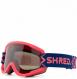 Маска Shred Nastify MTB Bigshow Navy/Rust-Cbl Green+Clear (2020) 1