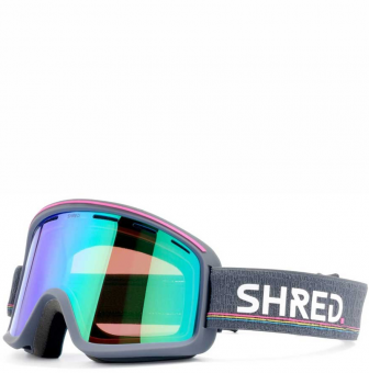 Маска Shred Monocle grey - CBL Plasma Mirror (VLT 16%) (2020)