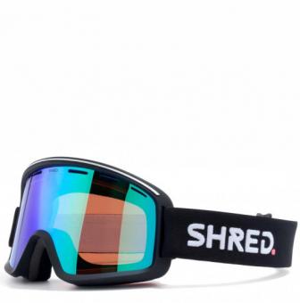 Маска Shred Monocle black - CBL Plasma Mirror (VLT 16%) (2020)