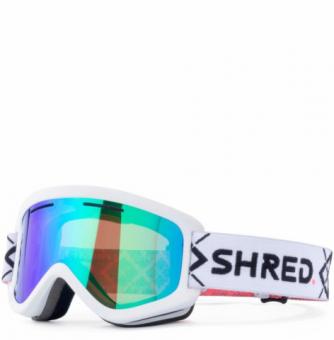 Маска Shred Wonderfy Bigshow White - CBL Plasma Mirror (VLT 16%) (2021)