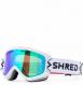 Маска Shred Wonderfy Bigshow White - CBL Plasma Mirror (VLT 16%) (2021) 1