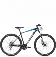 Велосипед Kross Level 2.0 (2021) Black/Blue/White Glossy