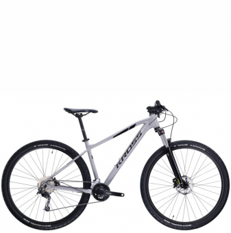 Велосипед Kross Level 3.0 (2021) Gray/Black gloss