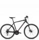 Велосипед Kross Evado 5.0 (2021) Black/Red Matte 1