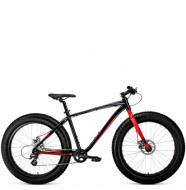 Фэтбайк Forward Bizon 26 (2021) черный\красный