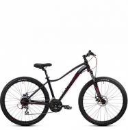 Велосипед Aspect Alma 27.5 (2021) черно-фиолетовый