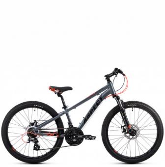 Подростковый велосипед Aspect Winner 24 (2021) серый